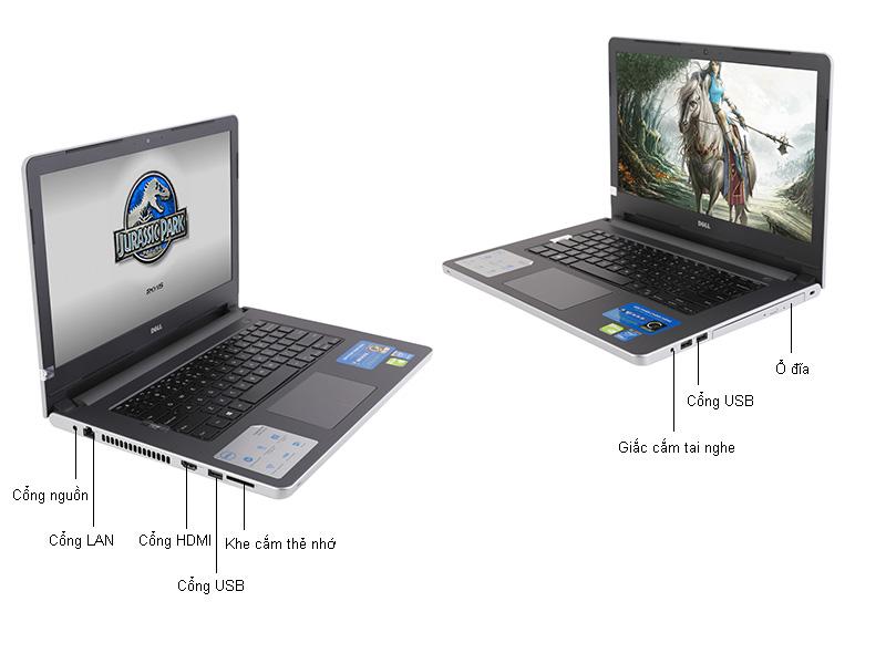 Máy tính xách tay Laptop dell Inspiron N5558