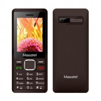Masstel  A2406 (Coffee)- 2.4Inch/ 2 Sim